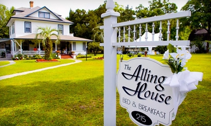 Alling House Bed and Breakfast - Orange City: $69 for a One-Night Stay at Alling House Bed and Breakfast (Up to $155 Value)