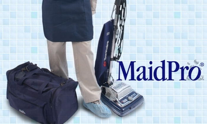 MaidPro - Charlotte: $59 for Kitchen, One Bathroom and One Additional Room of Choice Cleaning ($120 Value)