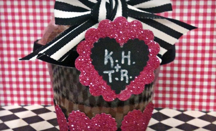 Jumbo 2-Layer Cupcake (a $34 value), Includes Shipping within Contiguous US - Cowgirl Cupcake Co. & General Store in Franklin