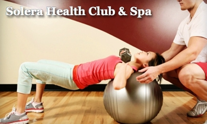 Solera Health Club & Spa - Downtown St. Louis: $35 for a One-Month Membership and Three Personal Training Sessions at Solera Health Club & Spa ($272 Value)