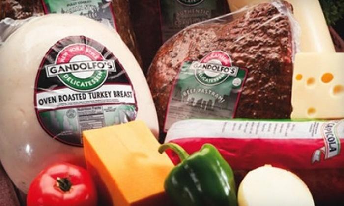 Gandolfo's New York Deli - Tempe: $7 for $15 Worth of Sandwiches and More at Gandolfo's New York Deli in Tempe
