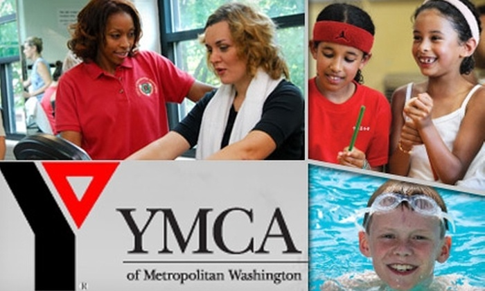 YMCA of Metropolitan Washington - Multiple Locations: $49 for a One-Month Adult or Family Membership, $25 Toward Programs at the YMCA of Metropolitan Washington, and One Personal-Training Session or One Private Tennis Lesson