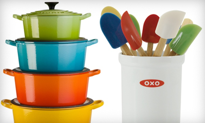 Chef Central - Multiple Locations: $15 for $30 Worth of Kitchenware and Gourmet Gifts Plus Sharpening of Two Knives at Chef Central ($44 Value)