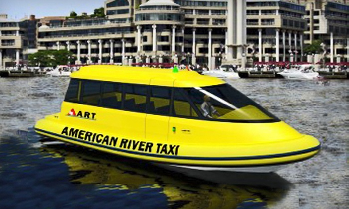 American River Taxi - Multiple Locations: Two or Six Water-Taxi Rides from American River Taxi