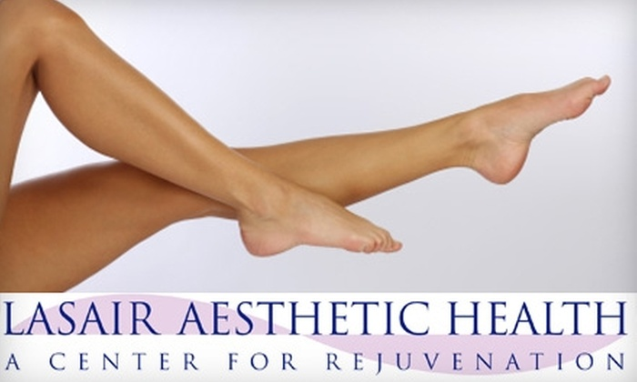 Lasair Aesthetic Health - Hampden South: $99 for Four Zones of Laser Hair Removal and a Skin Consultation from Lasair Aesthetic Health ($310 Value)