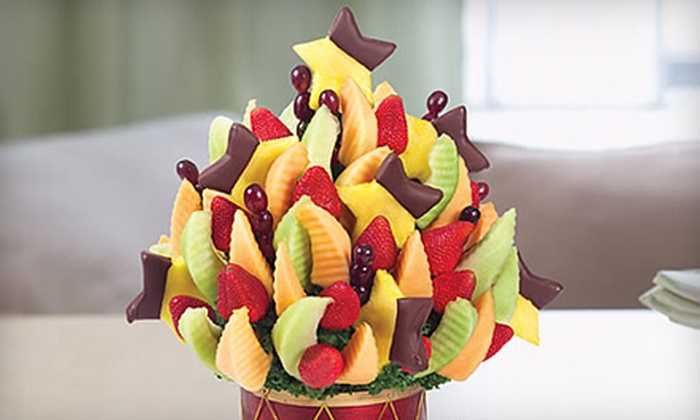 Edible Arrangements - Lithonia: Chocolate-Dipped Holiday Fruit Bouquets at Edible Arrangements in Lithonia (Up to 54% Off). Three Options Available.