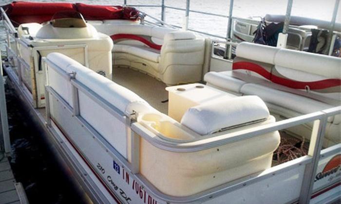 Calico Jacks Boat & RV Rentals - Lakewood: Weekday or Weekend Full-Day Pontoon Rental from Calico Jacks Boat & RV Rentals in Old Hickory