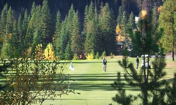 Kahler Glen Golf & Ski Resort - Leavenworth: $55 for 18 Holes of Golf for Two and Cart Rental at Kahler Glen Golf & Ski Resort in Leavenworth (Up to $110 Value)