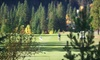 Kahler Glen Golf & Ski Resort - Leavenworth: $55 for 18 Holes of Golf for Two and Cart Rental at Kahler Glen Golf & Ski Resort in Leavenworth (Up to $110 Value)