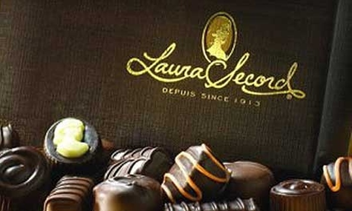 Laura Secord - Multiple Locations: $10 for $20 Worth of Premium Chocolate, Ice Cream, and Candies at Laura Secord