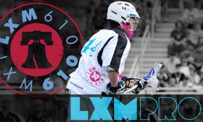 LXM Pro - Villanova: $8 Ticket to LXM PRO Lacrosse and Live Music Tour Featuring Wale, on Saturday, August 28