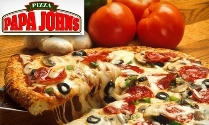 Papa John's - Multiple Locations: $25 for Five Extra-Large Any Topping or Specialty Pizzas from Papa John's (Up to $94.95 Value). Choose One of Four Locations.