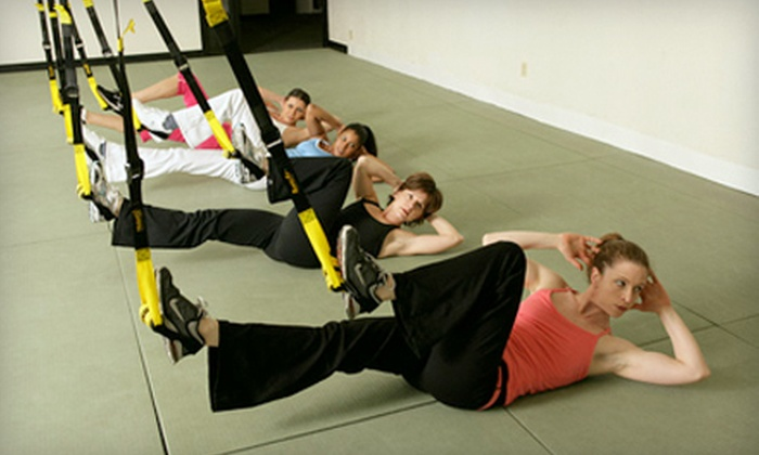 Intermix Fit Club - Wixom: $27 for Six ($60 Value) or $45 for Twelve TRX Suspension-Training Classes ($100 Value) or $90 for Six Personal-Training Sessions ($210 Value) at Intermix Fit Club