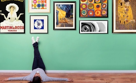 $100 Groupon to Art.com - Art.com in