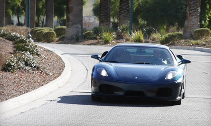 TryExoticCars.com - Las Vegas: $99 for a One-Hour Ferrari F430 Driving Experience with Photo from TryExoticCars.com ($249 Value)