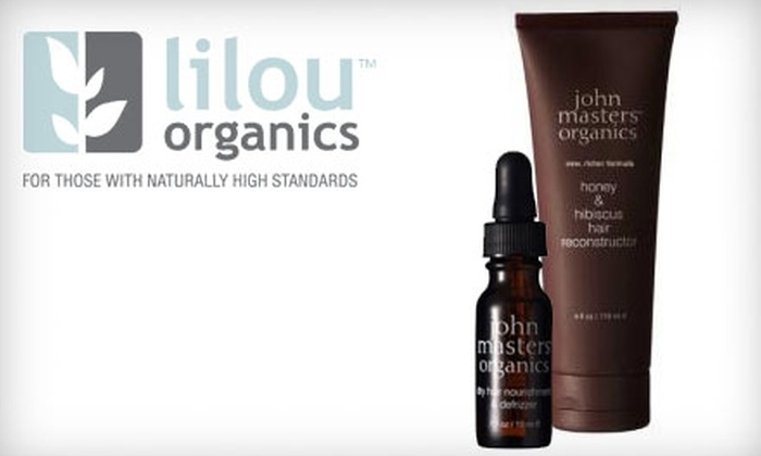 Lilou Organics - Manotick - North Gower: $15 for $30 Worth of Organic Cosmetics, Toiletries, Fair-Trade Jewellery, and Gifts from Lilou Organics