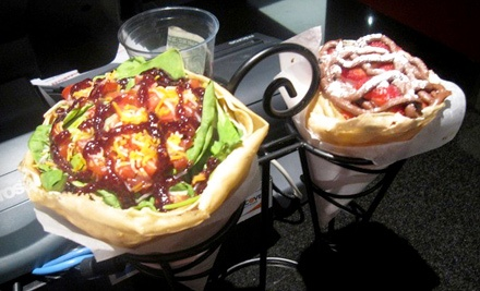 $20 Groupon Worth of French Fare for 2 or More - Crepe Maker in Coconut Creek