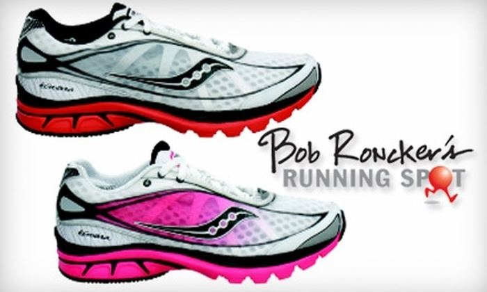 Bob Roncker's Running Spot - Multiple Locations: $20 for $40 Worth Of Casual, Walking, and Running Shoes at Bob Roncker's Running Spot. Choose from Four Locations.