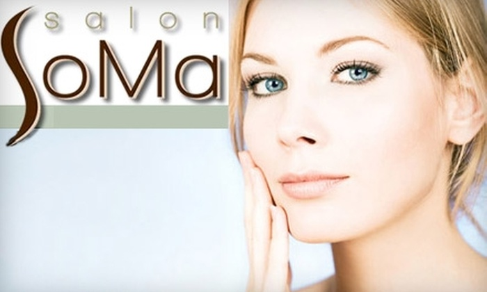 Salon SoMa - West Bellevue: $35 for $80 Worth of Facial or Waxing Services at Salon SoMa