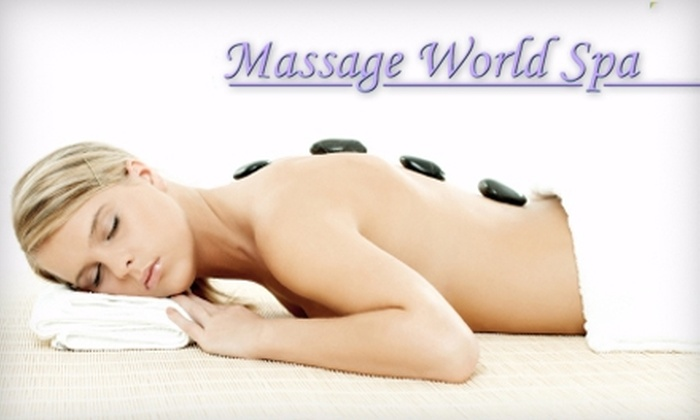 Massage World Spa - Florida City: $39 for a Facial or a Massage at Massage World Spa (Up to $122.45 Value)