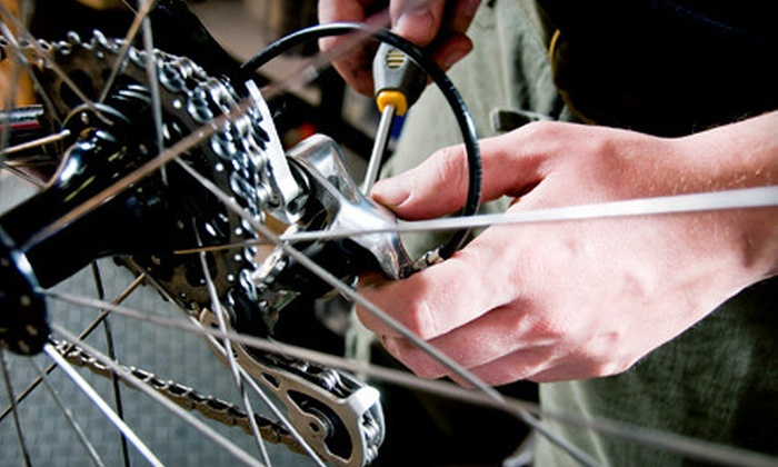 Trek Bicycle Store of Fort Lauderdale - Fort Lauderdale, FL: Bicycle Tune-Up or $20 for $40 Worth of Parts, Accessories, and Apparel at Trek Bicycle Store (Up to 53% Off)