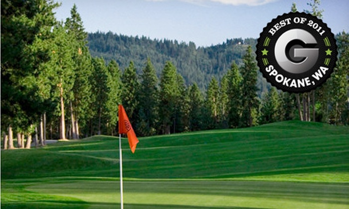 The Highlands Golf Course - Post Falls: $52 for a Weekday or Weekend Golf Outing for Two with Cart at The Highlands Golf Course in Post Falls (Up to 59% Off)