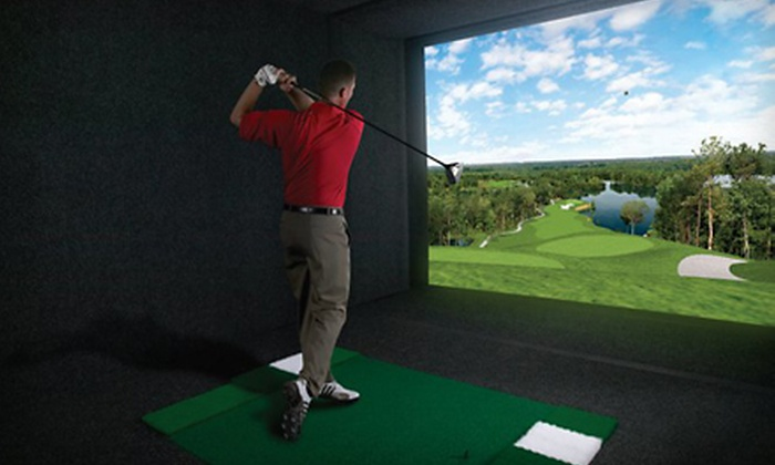 Global Indoor Golf - Rio Grande: $50 for Golf Outing for Four at Global Indoor Golf at Marriott City Center ($180 Value)