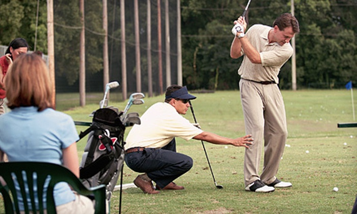 Branchburg Family Golf Center - North Branch Depot: One, Two, or Three Private Golf Lessons with Range Balls at Branchburg Family Golf Center (Up to 62% Off)