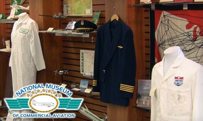 National Museum of Commercial Aviation - Forest Park-Morrow: $10 for a Family Pass to and a $10 Gift Shop Credit at the National Museum of Commercial Aviation in Forest Park