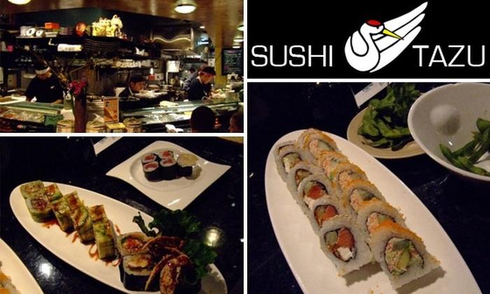 Sushi Tazu - Denver: $10 for $25 Worth of Sushi, Sake, and More at Sushi Tazu