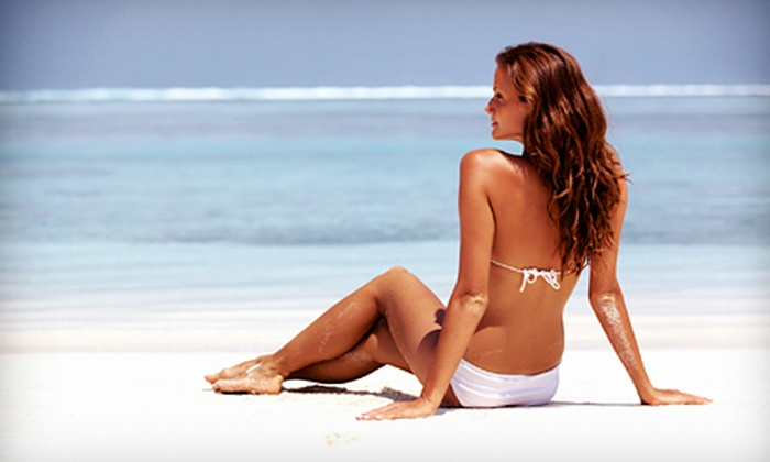 Clarisa's Golden Touch - Madera: One, Three, or Five Custom Spray Tans at Clarisa's Golden Touch in Madera (Up to 53% Off)