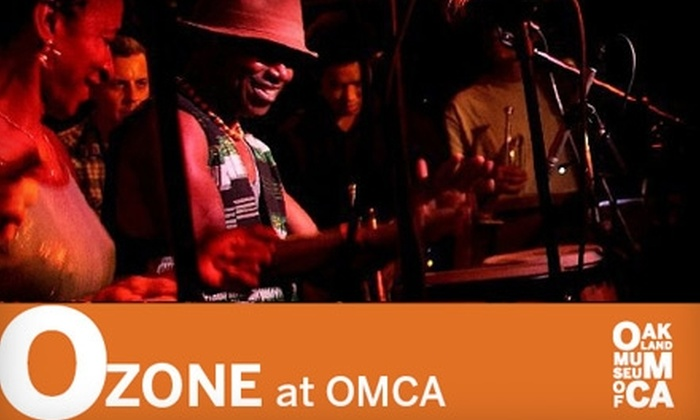 Oakland Museum of California - Civic Center: $6 for One Admission to O Zone at Oakland Museum of California on February 25