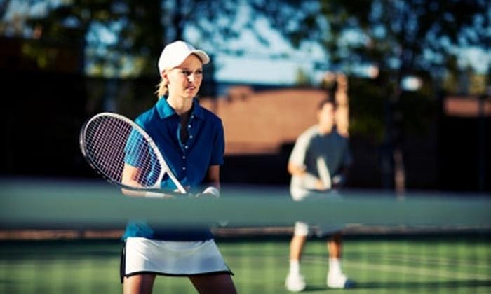 Giammalva Racquet Club - Northwest Harris: $37 for Four Adult Beginner Tennis Classes and Racket Rental at Giammalva Racquet Club ($80 Value)