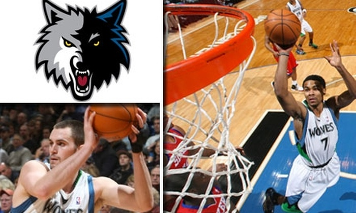 Minnesota Timberwolves - Warehouse District: $20 Ticket to Minnesota Timberwolves vs. Denver Nuggets on March 10 at 7 p.m. ($50 Value). Buy Here for Gray-Section Seats. See Below for Additional Seating, Dates, and Prices.