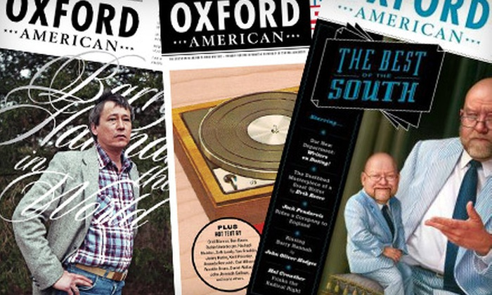 """""""The Oxford American"""": One- or Two-Year Subscription to """"The Oxford American"""" (Half Off)"""