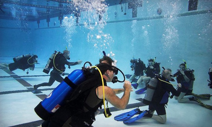 Columbia Scuba - Multiple Locations: Discover Scuba Class for One or Two People at Columbia Scuba