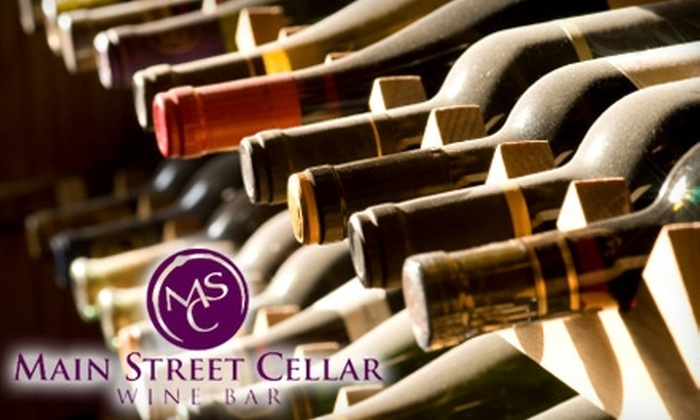 Main Street Cellar Wine Bar - Manotick - North Gower: $25 for $50 Worth of Upscale Cuisine and Drinks at Main Street Cellar Wine Bar