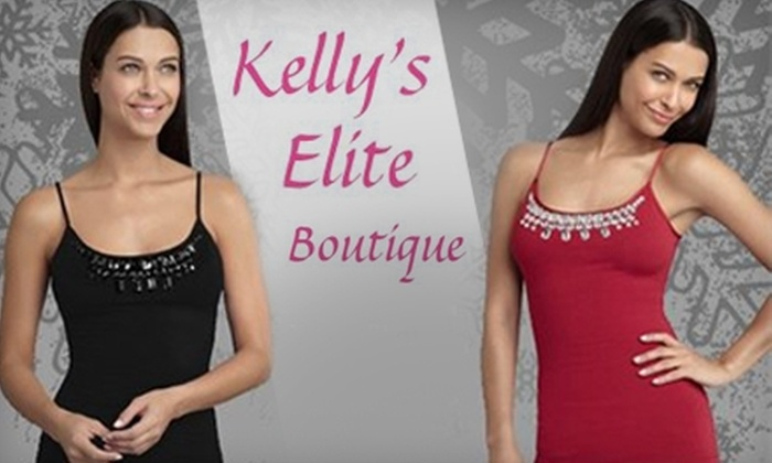 Kelly's Elite Boutique - Howland: $25 for $50 Worth of Intimates, Skincare, Wigs, and More at Kelly's Elite Boutique