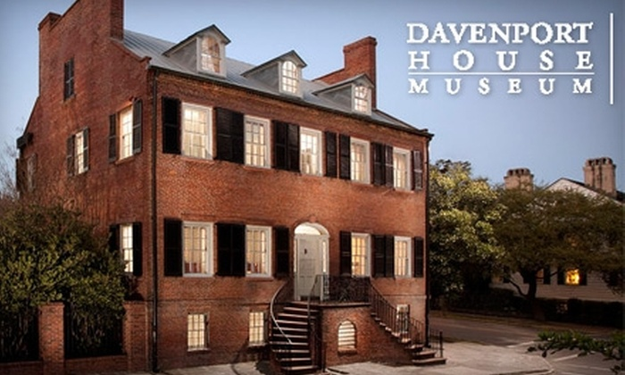 Davenport House Museum - Historic District - North: $8 for Two General-Admission Tickets to the Davenport House Museum