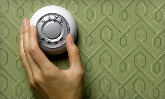 Amos Electrical & Mechanical - Tulsa: $44 for a 14-Point Air-Conditioner Inspection and Tune-Up from Amos Electrical & Mechanical ($99 Value)