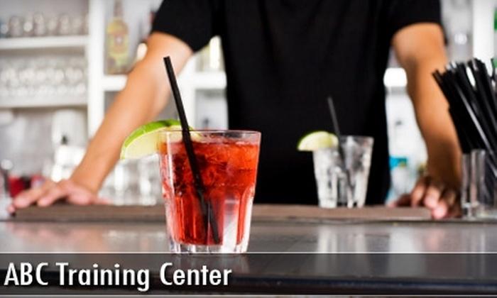 ABC Training Center - Fordham Manor: $110 for Bartending Classes at ABC Training Center ($395 Value)