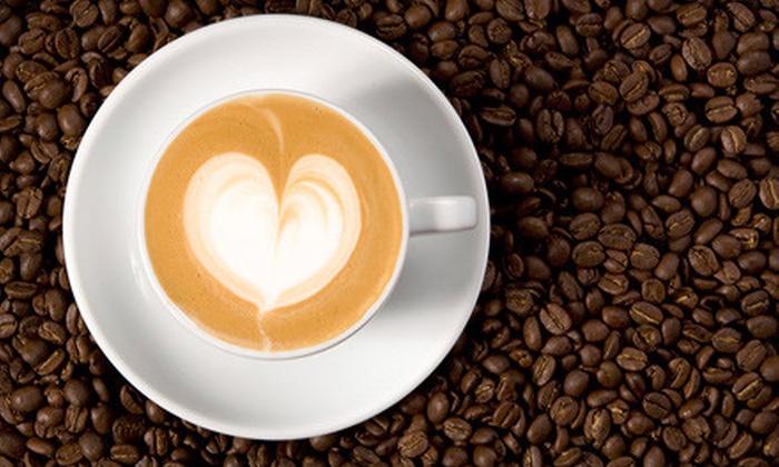 Shameless Grounds - Fox Park: $9 for Five Espresso Drinks at Shameless Grounds (Up to $19.25 Value)
