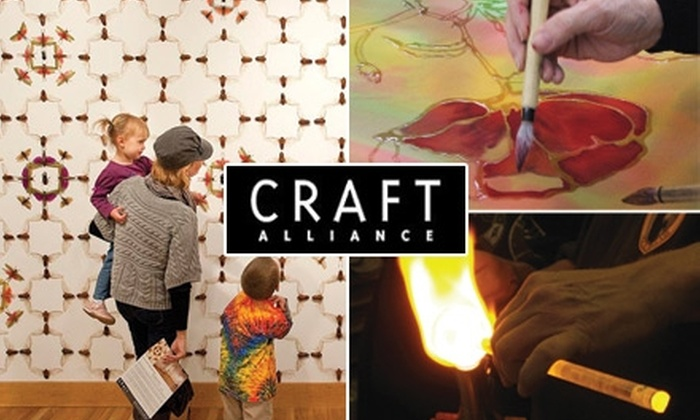 Craft Alliance - Grand Center: $60 for a Six-Week Art Course at Craft Alliance (Up to $195 Value)
