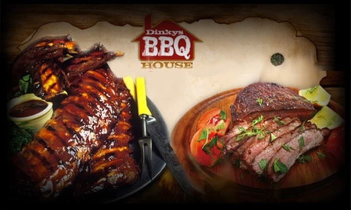 Dinky's BBQ House - North Shearer Hills: $10 for $25 Worth of Scrumptious Fare and Drinks at Dinky's BBQ House