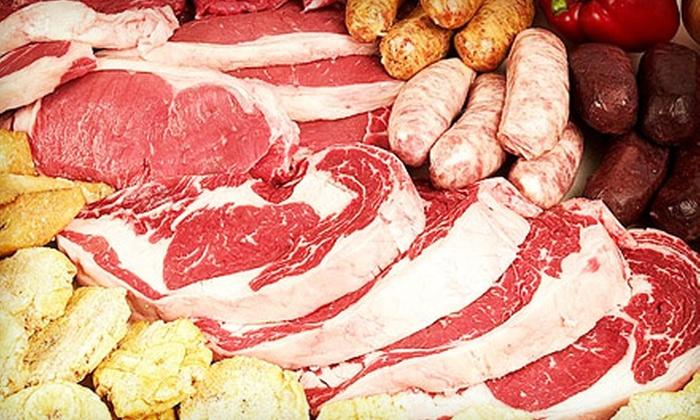 Viña & Sons Food Distributor - Allapattah: $20 for $40 for Fresh Meat, Seafood, and Dry Goods at Viña & Sons Food Distributor