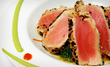 Four-Course Dinner for Two (a $90 value) - Hooked Seafood & Sushi in Sterling