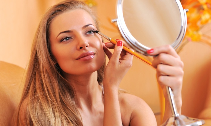 The Powder Room Pa, Llc - East Liberty: Makeup Lesson and Application from The Powder Room (49% Off)