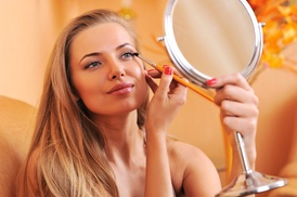 The Powder Room Pa, Llc: Makeup Lesson and Application from The Powder Room (49% Off)