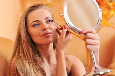 Makeup Lesson and Application from The Powder Room (49% Off)