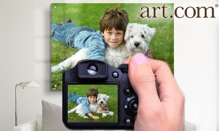 """Art.com: $44 for 18""""x24"""" or 16""""x24"""" Canvas Print from Photos to Art by art.com"""
